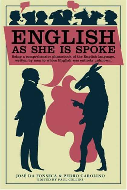 Greatest Book Covers - English as She Is Spoke