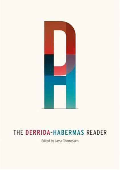 Greatest Book Covers - The Derrida-Habermas Reader