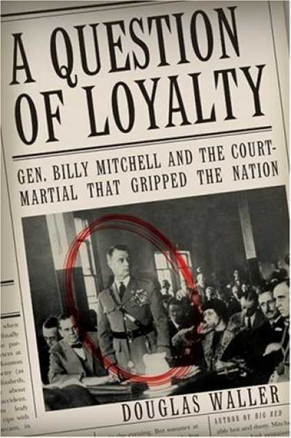 Greatest Book Covers - A Question of Loyalty