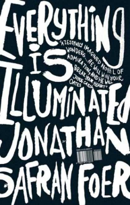 Greatest Book Covers - Everything Is Illuminated