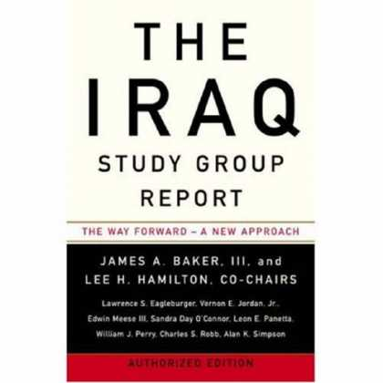 Greatest Book Covers - The Iraq Study Group Report