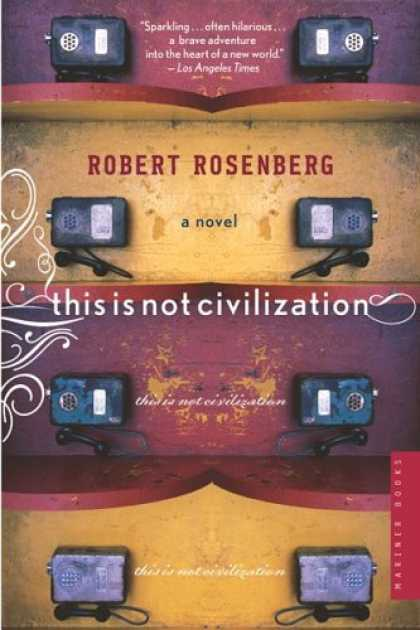 Greatest Book Covers - This Is Not Civilization
