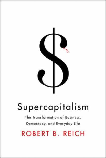 Greatest Book Covers - Supercapitalism