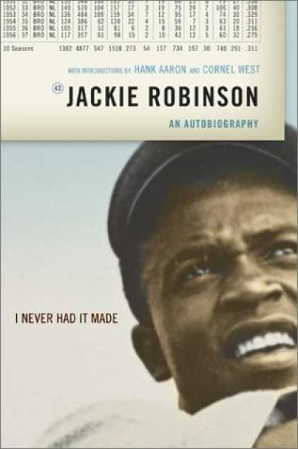 Greatest Book Covers - I Never Had It Made: An Autobiography of Jackie Robinson