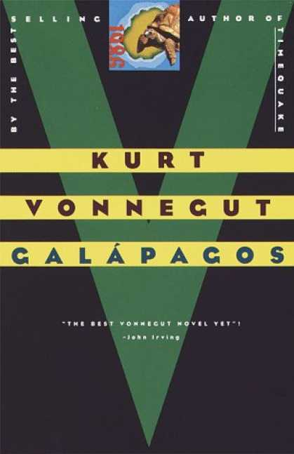 Greatest Book Covers - Galapagos