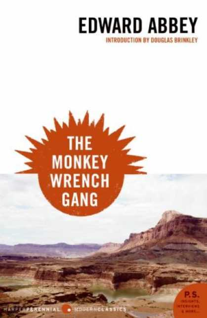 Greatest Book Covers - The Monkey Wrench Gang