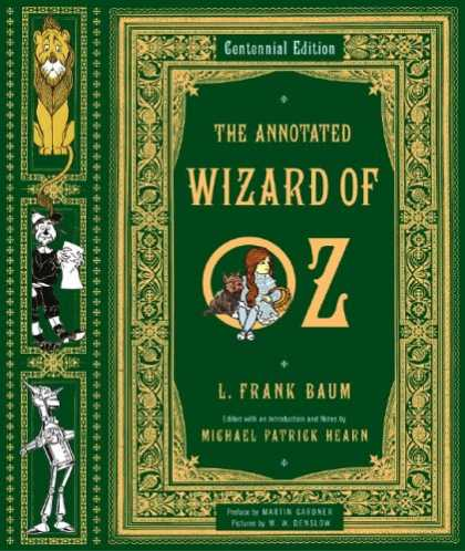 Greatest Book Covers - The Annotated Wizard of Oz