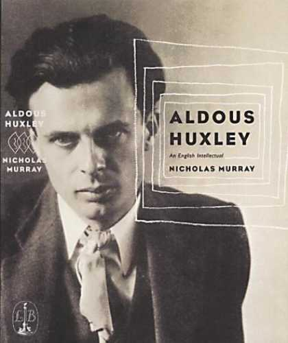 Greatest Book Covers - Aldous Huxley