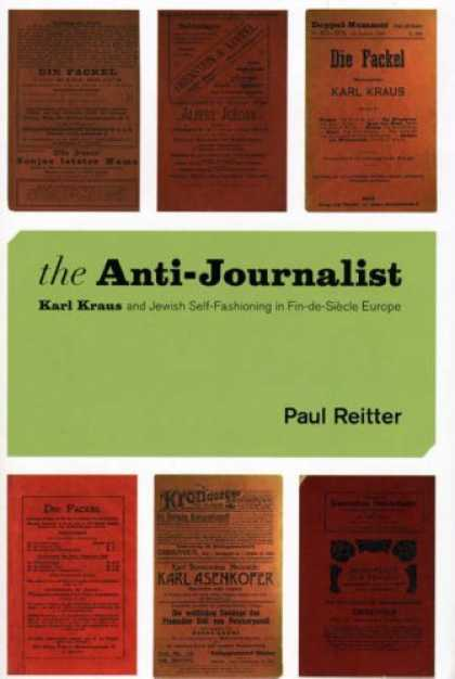Greatest Book Covers - The Anti-Journalist