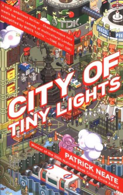 Greatest Book Covers - City of Tiny Lights