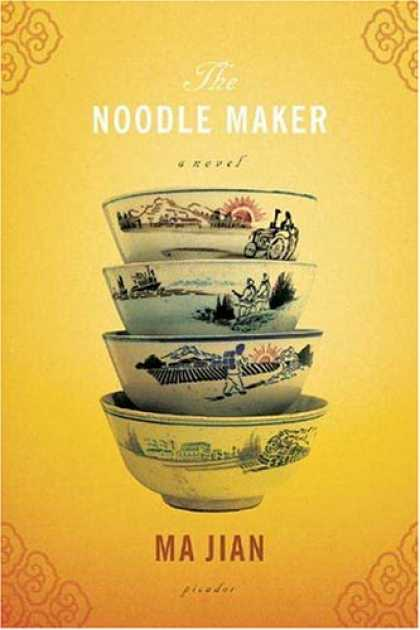 Greatest Book Covers - The Noodle Maker: A Novel