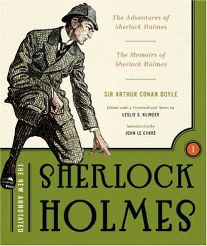 Greatest Book Covers - The New Annotated Sherlock Holmes