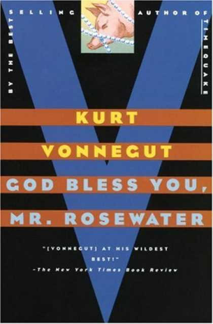 Greatest Book Covers - God Bless You, Mr. Rosewater