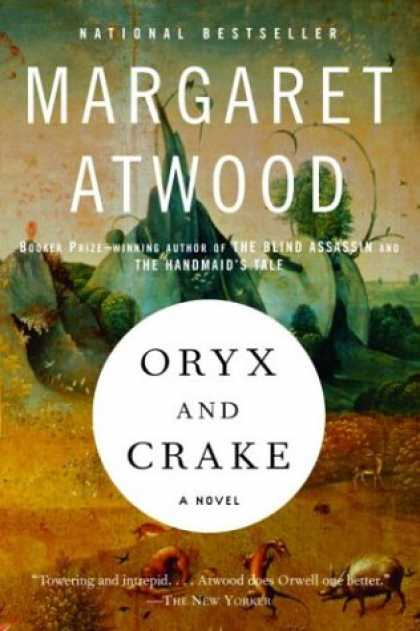 Greatest Book Covers - Oryx and Crake