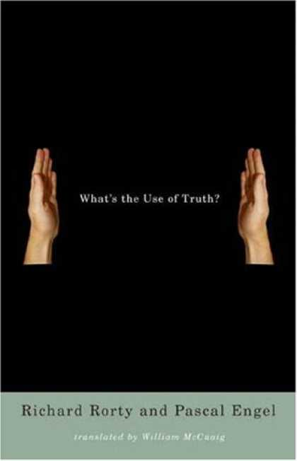 Greatest Book Covers - What's the Use of Truth?
