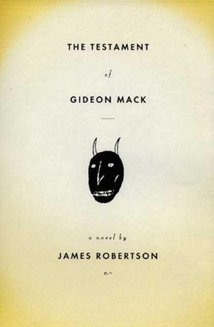 Greatest Book Covers - The Testament of Gideon Mack