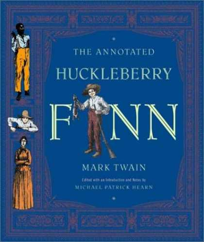 Greatest Book Covers - The Annotated Huckleberry Finn