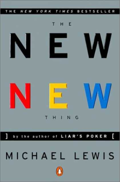 Greatest Book Covers - The New New Thing