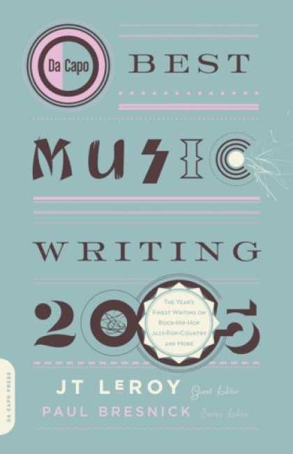 Greatest Book Covers - Da Capo Best Music Writing 2005