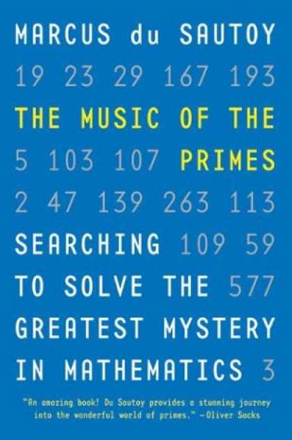 Greatest Book Covers - The Music of the Primes
