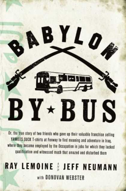 Greatest Book Covers - Babylon by Bus