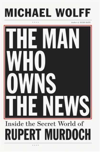Greatest Book Covers - The Man Who Owns the News