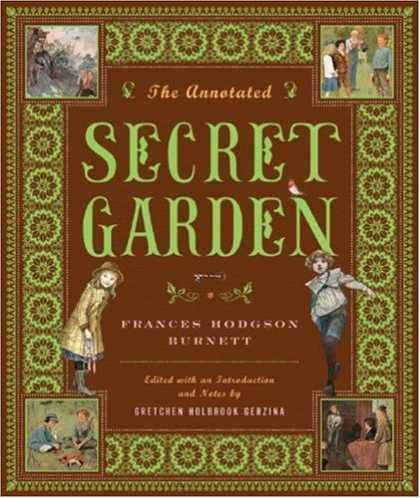 Greatest Book Covers - The Annotated Secret Garden