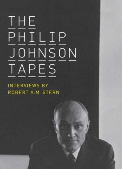 Greatest Book Covers - The Philip Johnson Tapes