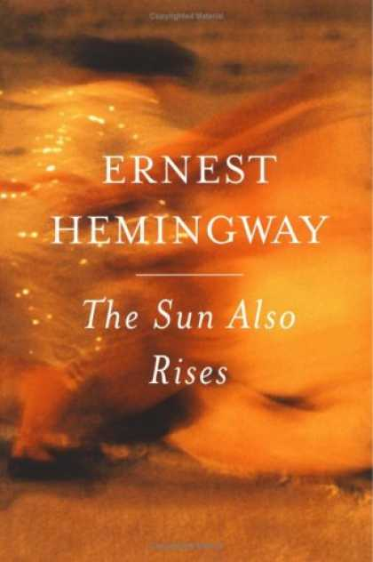 Greatest Book Covers - The Sun Also Rises