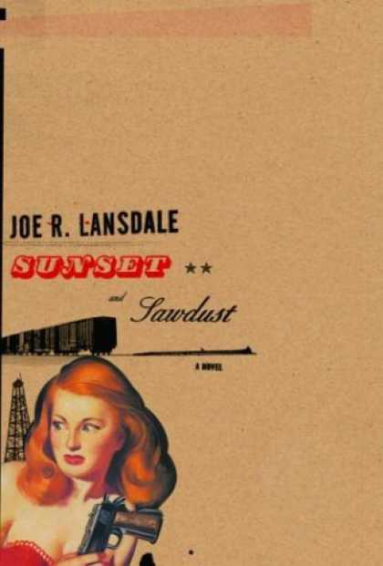 Greatest Book Covers - Sunset and Sawdust