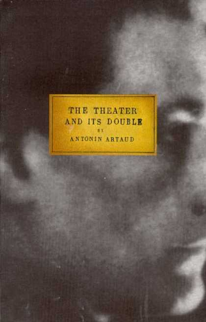 Greatest Book Covers - The Theater and Its Double