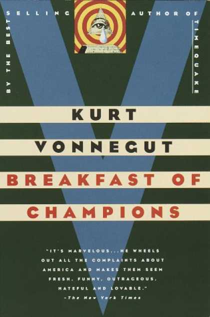 Greatest Book Covers - Breakfast of Champions