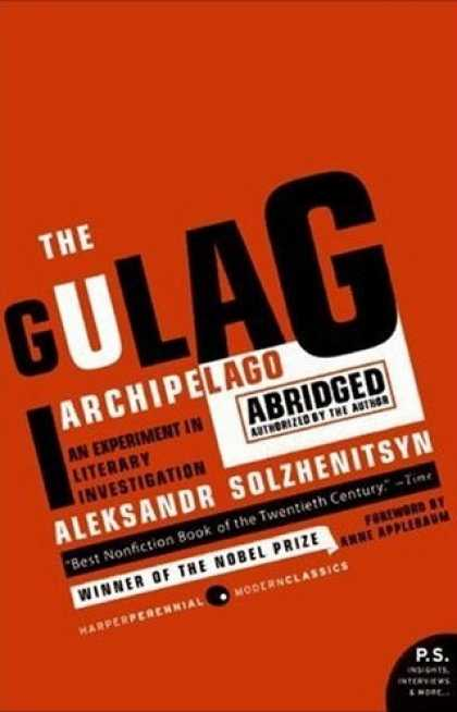 Greatest Book Covers - The Gulag