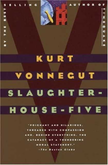 Greatest Book Covers - Slaughterhouse Five