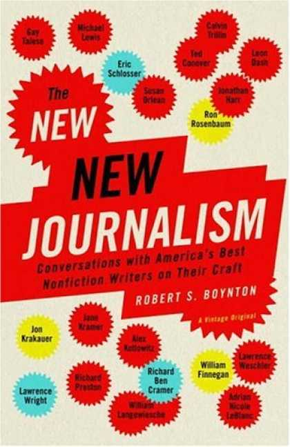 Greatest Book Covers - The New New Journalism