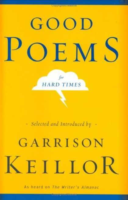 Greatest Book Covers - Good Poems for Hard Times