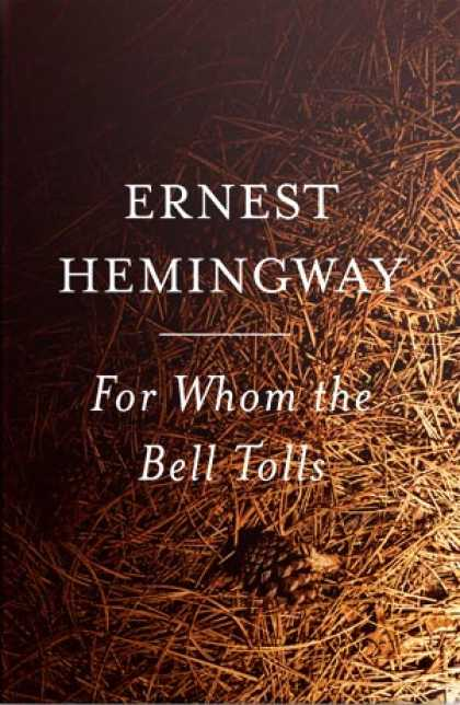 Greatest Book Covers - For Whom the Bell Tolls