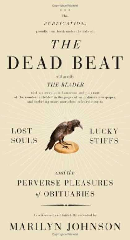 Greatest Book Covers - The Dead Beat