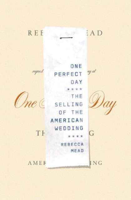 Greatest Book Covers - One Perfect Day