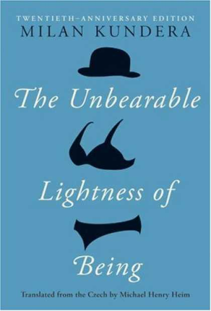 Greatest Book Covers - The Unbearable Lightness of Being