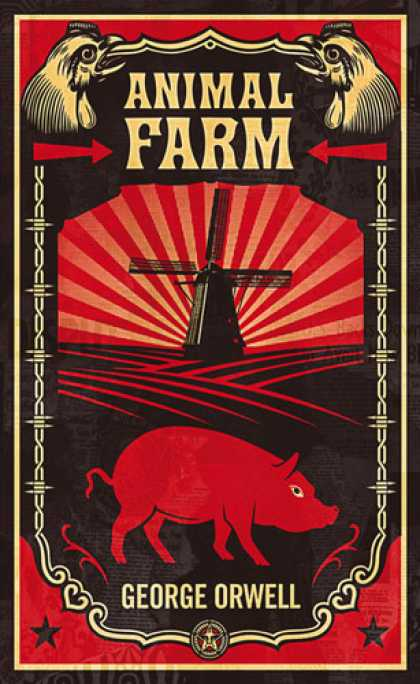 Greatest Book Covers - Animal Farm