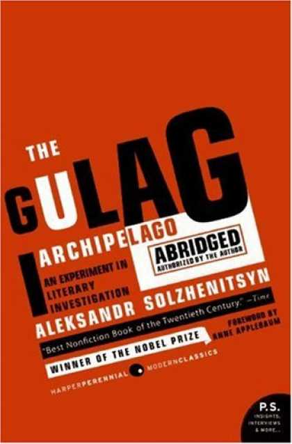 Greatest Book Covers - The Gulag Archipelago
