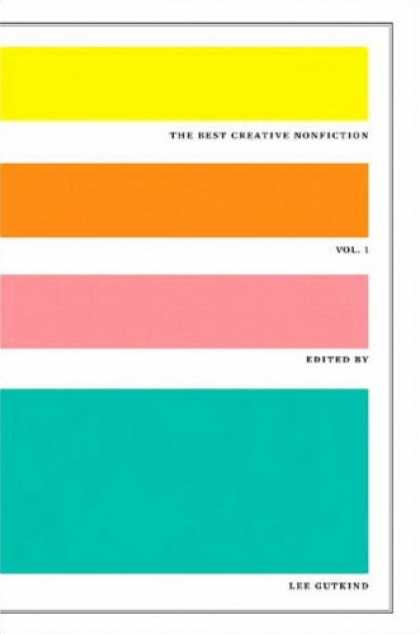 Greatest Book Covers - The Best Creative Nonfiction, Vol. 1