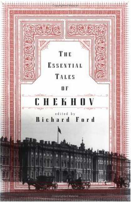 Greatest Book Covers - The Essential Tales of Chekhov