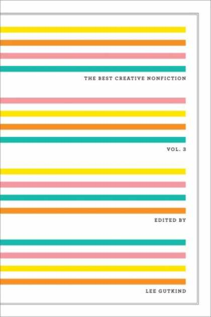 Greatest Book Covers - The Best Creative Nonfiction: Vol. 3