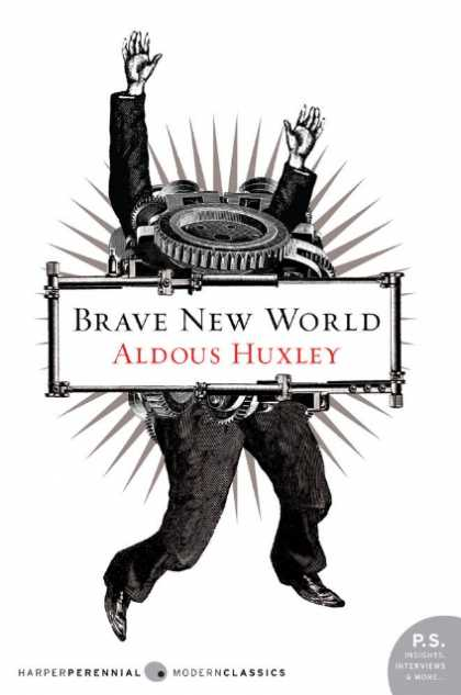 Greatest Book Covers - Brave New World