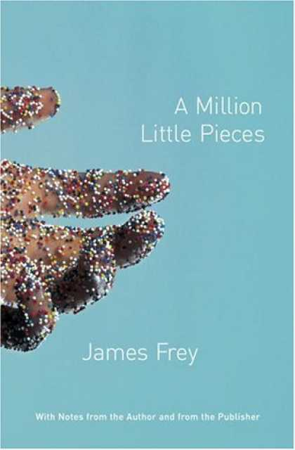 Greatest Book Covers - A Million Little Pieces