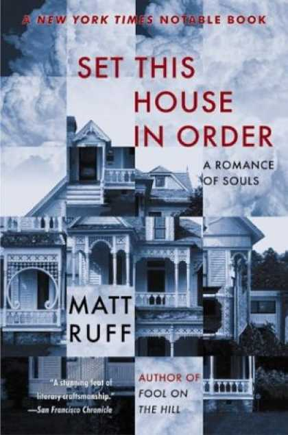 Greatest Book Covers - Set This House in Order