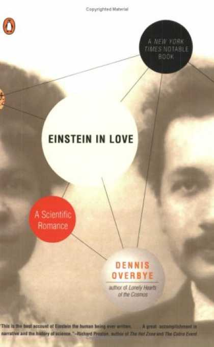 Greatest Book Covers - Einstein in Love
