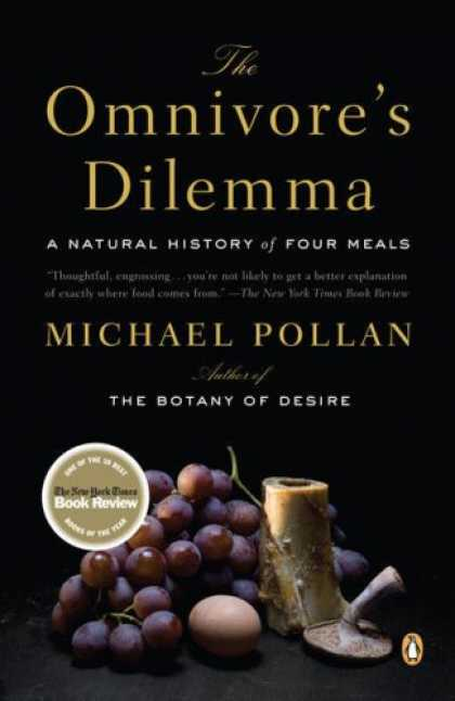 Greatest Book Covers - The Omnivore's Dilemma: A Natural History of Four Meals